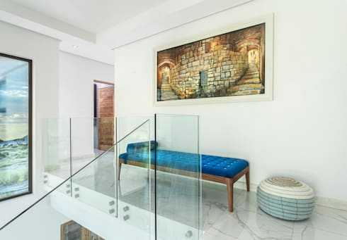 Marble Stairs:   by Deborah Garth Interior Design