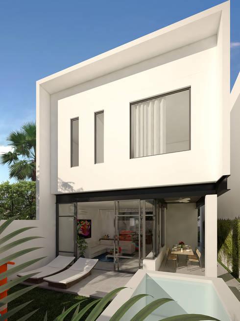 alberca:  de estilo  por studio arquitectura | Despacho de arquitectos | Cancún