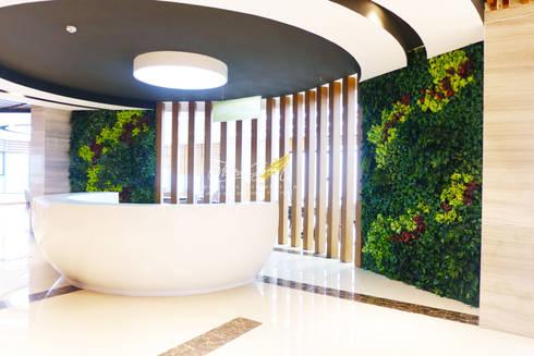 CÔNG TRÌNH MƯỜNG THANH LUXURY HOTEL - ĐÀ NẴNG:  Nhà by Công Ty TNHH TM & DV Forever Green
