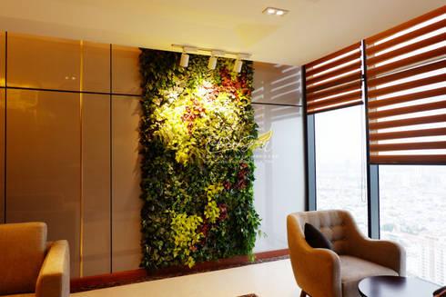 CÔNG TRÌNH MƯỜNG THANH LUXURY HOTEL – ĐÀ NẴNG:  Nhà by Công Ty TNHH TM & DV Forever Green