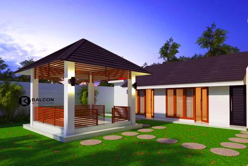 MEDICAL- HOUSE Rumah Praktek Dokter :   by BALCON ARCHITECTS