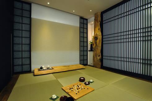 室內設計   SF House:  地板 by 黃耀德建築師事務所  Adermark Design Studio