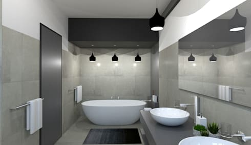 New Bathroom:   by A4AC Architects