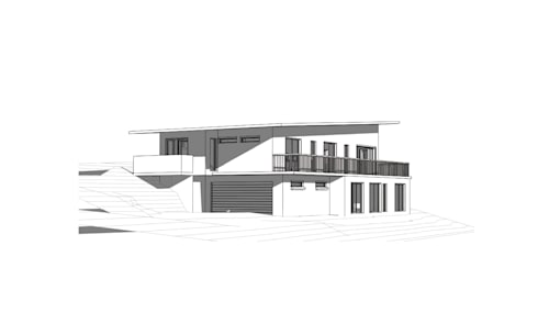 New House Design:   by A4AC Architects
