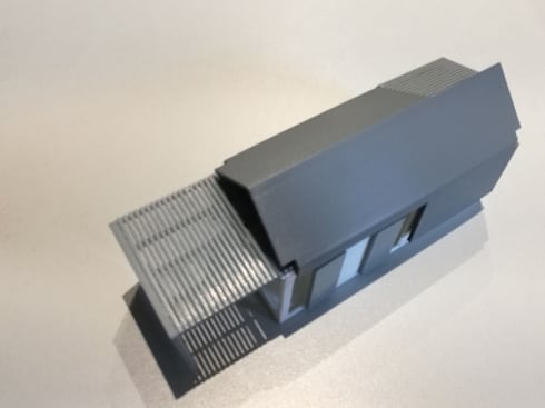 IMPALA 3D PRINTED CONTAINER:   by A4AC Architects