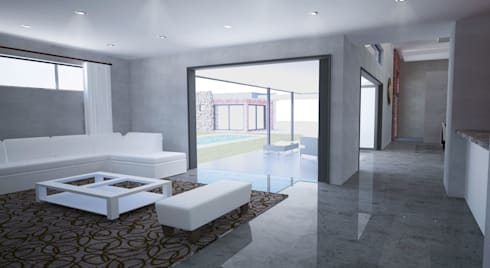 New Living Room: modern Living room by A4AC Architects