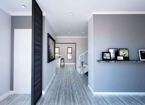 New Entrance View:  Floors by A4AC Architects