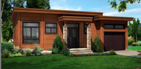 Construccion de viviendas:  de estilo  por Constructora Zepeda y Salfate Ltda.