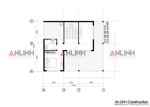 Mẫu biệt thự phố đẹp, công trình Nguyễn Văn Tiến:   by CÔNG TY THIẾT KẾ XÂY DỰNG AN LĨNH