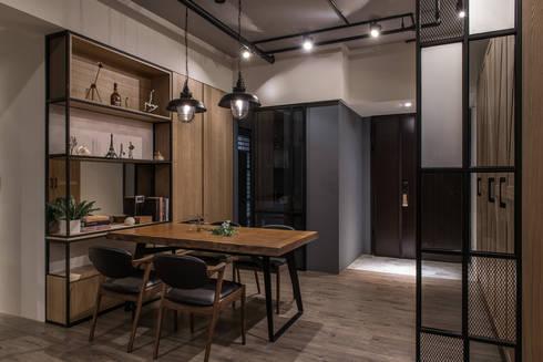 遊憩:  餐廳 by 詩賦室內設計