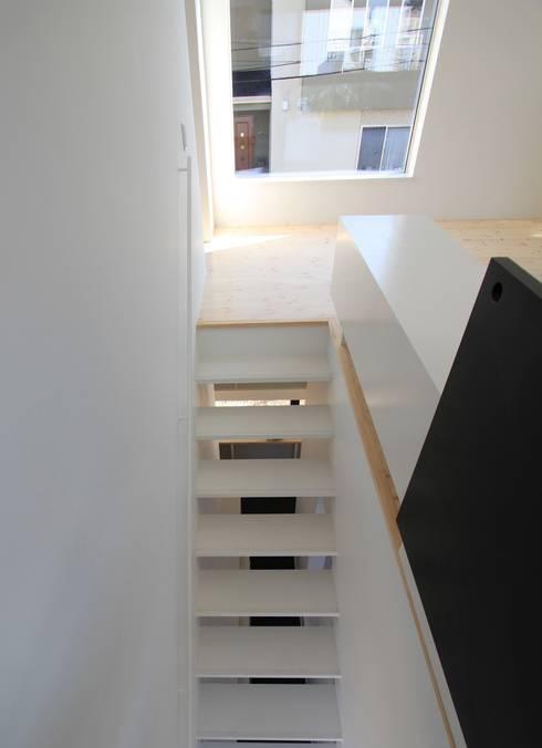階段: 石川淳建築設計事務所が手掛けた階段です。
