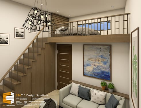 ​Penthouse with Loft:  Commercial Spaces by CB.Arch Design Solutions