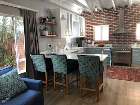 All chairs ,sofas scatters as well as bespoke kitchen : classic Kitchen by CS DESIGN
