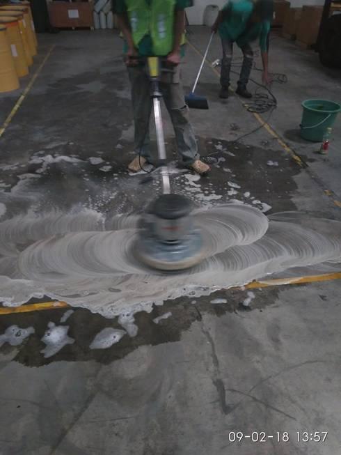 cuci lantai:   by cv indah karya bersaudara