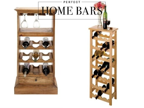 Creative Ways To Spice up your Home and Show off your Wines: modern Wine cellar by Perfect Home Bars