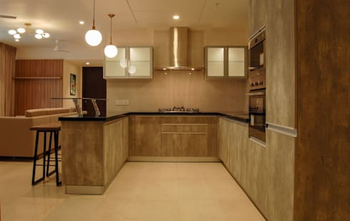 modern Kitchen by Synergy Architecture and Interiors