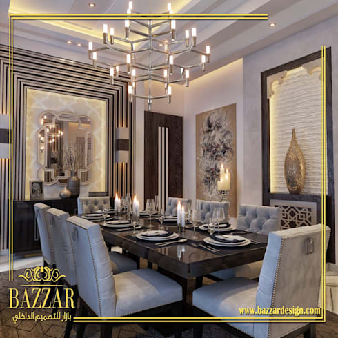 غرف طعام:  Dining room تنفيذ Bazzar Design