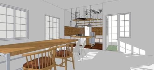Renovasi Rumah Tinggal dan Interior Dapur :   by jaas.design