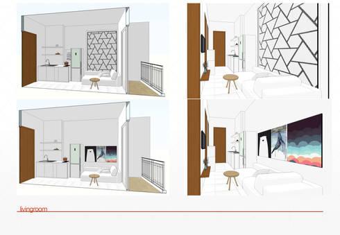 Living Room design : modern Living room by jaas.design
