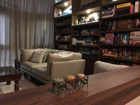 Living: mediterranean Living room by FINE ART LIVING PTE LTD