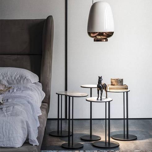 Industrial meets modern: industrial Bedroom by Adore Design