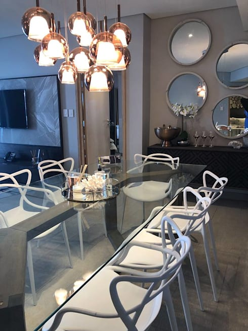 The Pearls of Umhlanga: modern Dining room by Adore Design
