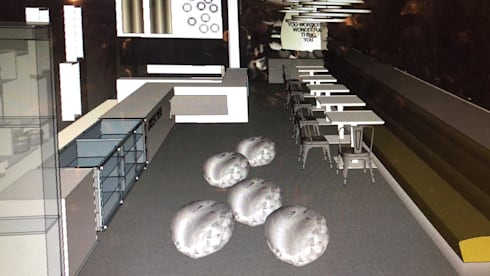 Restaurant Renders:   by Adore Design