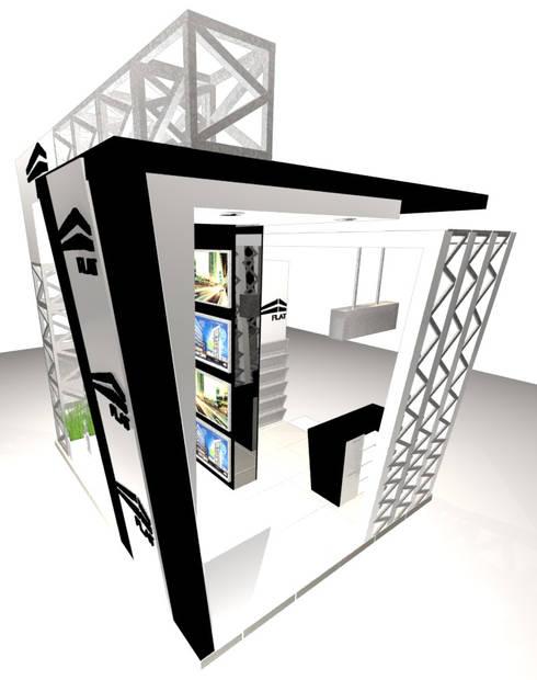 VISTA 2:  de estilo  por Karla Alvarez - Arquitectura de Interiores