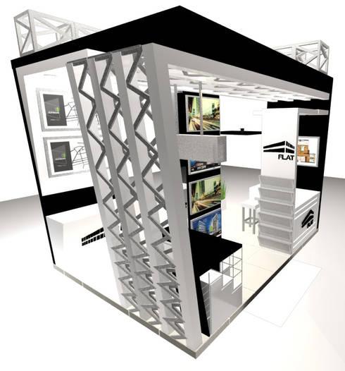 VISTA 3:  de estilo  por Karla Alvarez - Arquitectura de Interiores