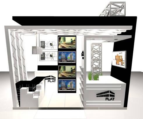 VISTA 4:  de estilo  por Karla Alvarez - Arquitectura de Interiores
