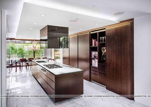 Thiết kế biệt thự hiện đại tại Vĩnh Phúc:   by Công ty CP kiến trúc và xây dựng Eco Home