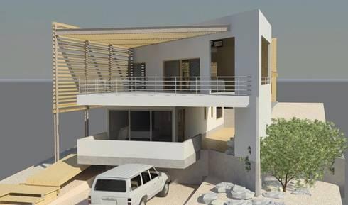 Casa en Bahía Inglesa: Casas unifamiliares de estilo  por Casas del Girasol