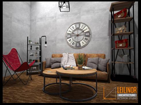 minimalistic Living room by CV Leilinor Architect