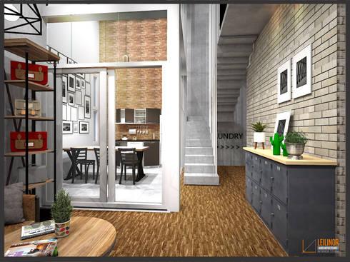 Corridor & hallway by CV Leilinor Architect