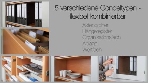 Jede Menge Stauraum - individuell aufgeteilt: moderne Küche von Koitka Innenausbau GmbH