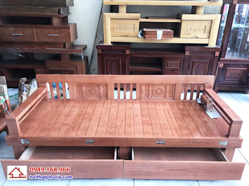 Mẫu GNS817:   by Đồ gỗ nội thất Phố Vip
