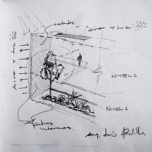 Vivienda Policube.:  de estilo  por KREATE Arquitectura