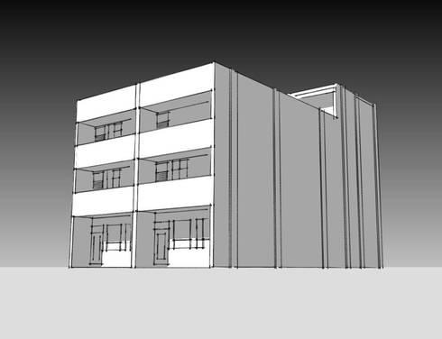 W宅:  排屋 by 漢默設計