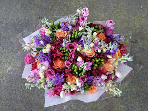 Country bouquet:  Garden  by Flower Station