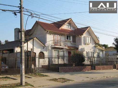Casa Toro: Casas de estilo colonial por Lau Arquitectos