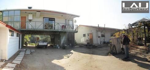 Casa Sobre Contenedores: Casas de estilo rural por Lau Arquitectos