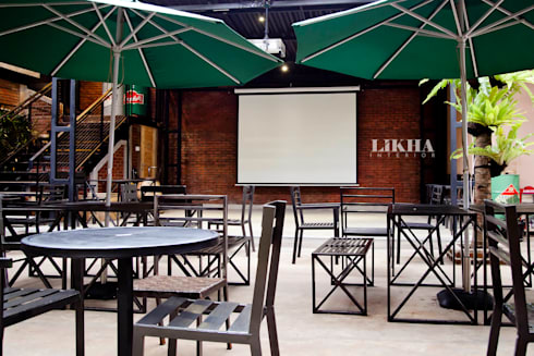 Pasar Cisangkuy (Outdoor Area):  Restoran by Likha Interior