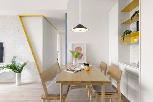 A.K.I.House:  餐廳 by 寓子設計