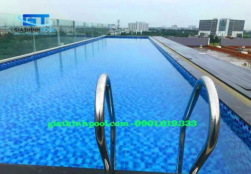 Tư Vấn thiết kế hồ bơi trên sân thượng:   by GIA THINHPOOL