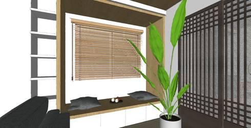 Trivium Apartment 3BR :   by SAE Studio (PT. Shiva Ardhyanesha Estetika)