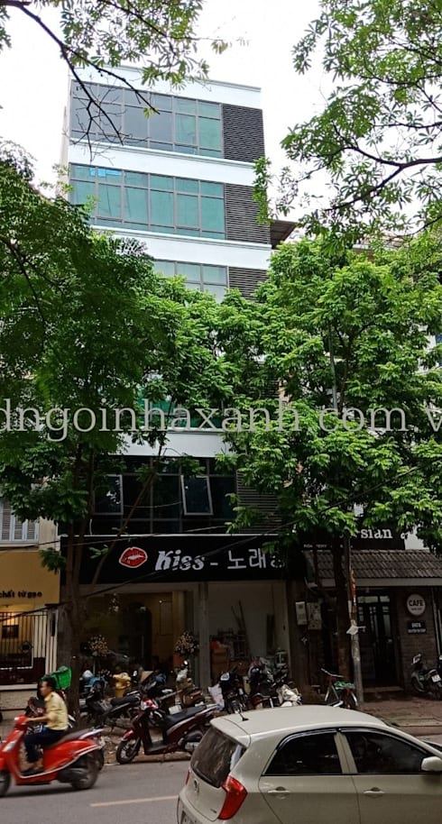 Bàn giao Công trình: Quán Karaoke:  Văn phòng & cửa hàng by Công ty TNHH Xây dựng và Phát triển Ngôi Nhà Xanh