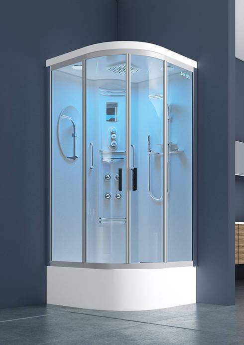 DUŞES KABİN SİSTEMLERİ SAN.TİC.LTD.ŞTİ. – Oval Kompakt Kabin:  tarz Banyo
