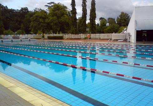 Tư vấn thiết kế hồ bơi thể dục thể thao:  de estilo  por GiaThinhPool TP.HCM