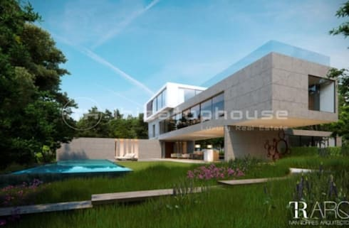ibizatophouse: modern Houses by ibizatophouse