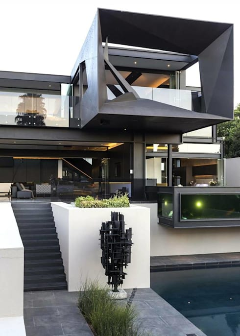 modern Houses by S.R. Buildtech – The Gharexperts